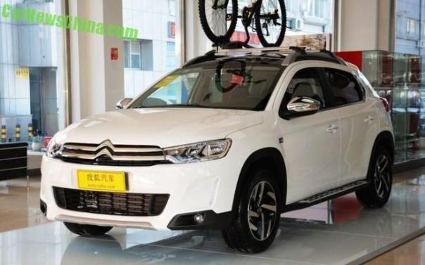 Citroen C3-XR SUV launched in China