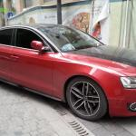 Audi A5 Sportback Is Red Black In China Carnewschina Com