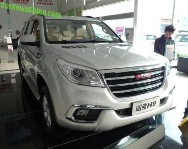 Eye to Eye with the Haval H9 SUV in China