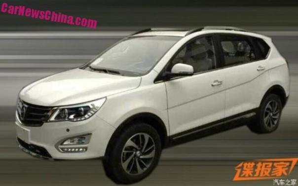 Spy Shots: Baojun 560 SUV is Naked in China