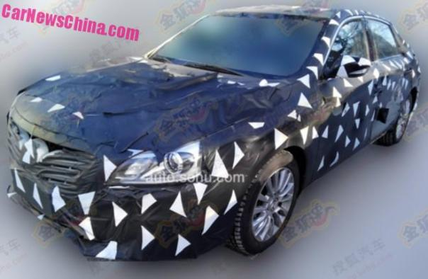 Spy Shots: Guangzhou Auto Trumpchi GA8 sedan testing in China
