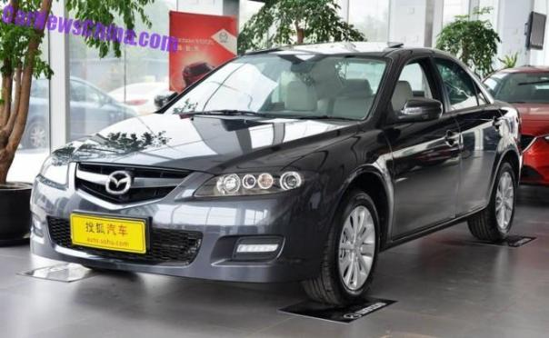 First generation Mazda 6 is still in production in China