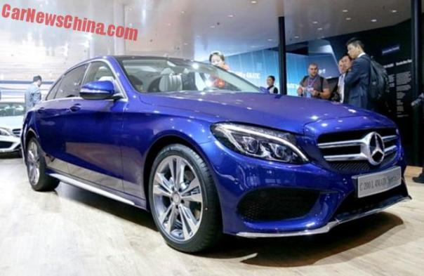 Mercedes-Benz C200L 4Matic Sport debuts on the Shanghai Auto Show