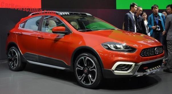 Fiat Ottimo Cross concept debuts on the Shanghai Auto Show