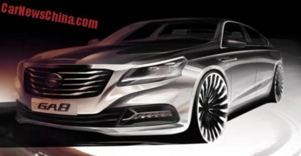 Guangzhou Trumpchi GA8 concept will debut on the Shanghai Auto Show