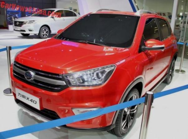 Lifan X40 concept launched on the Shanghai Auto Show