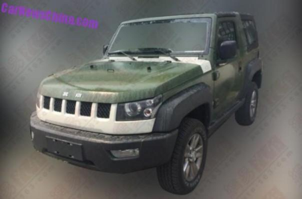 Beijing Auto BJ40 to get a Saab 2.0 turbo under the bonnet