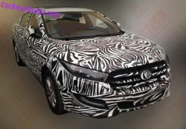 Spy Shots: Besturn B50 RS testing in China
