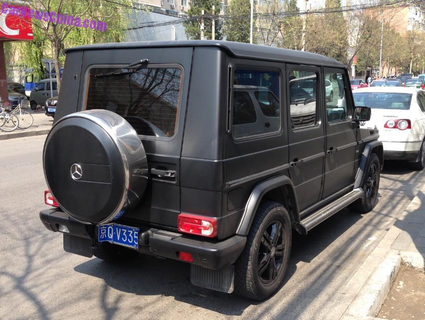 mercedes g matte black 2