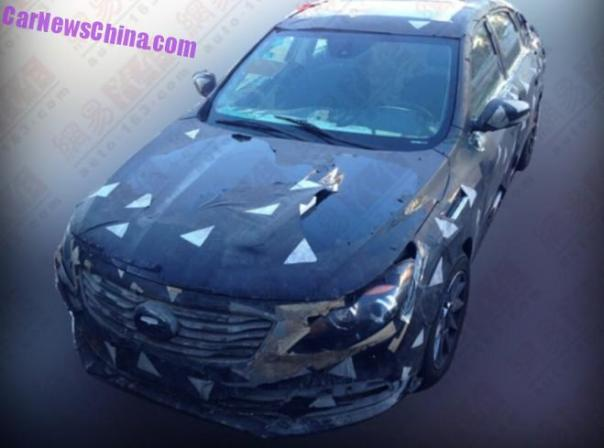 Spy Shots: Guangzhou Auto Trumpchi GA4 sedan for China