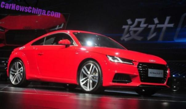 Audi TT launched on the Chinese car market