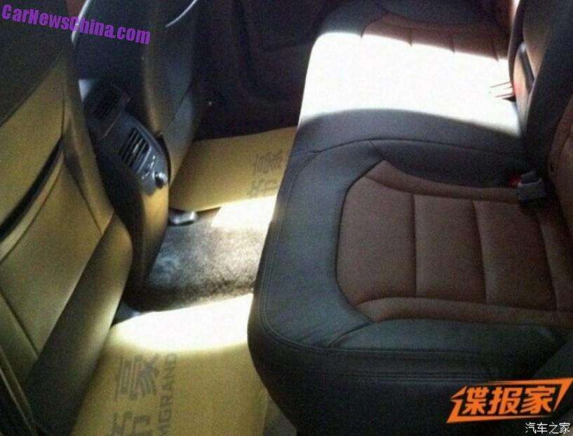 Spy Shots Geely Nl Suv For China The Interior Carnewschina