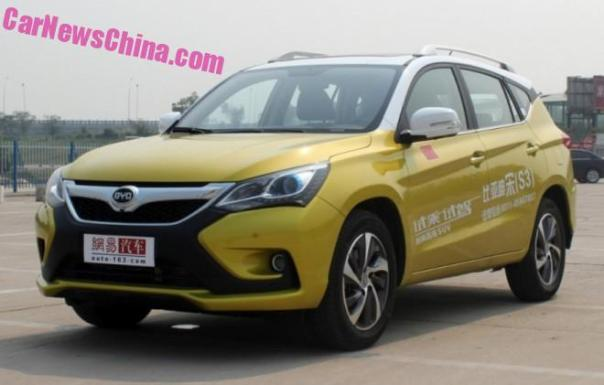 BYD S3 SUV is Ready for the Chinese car market