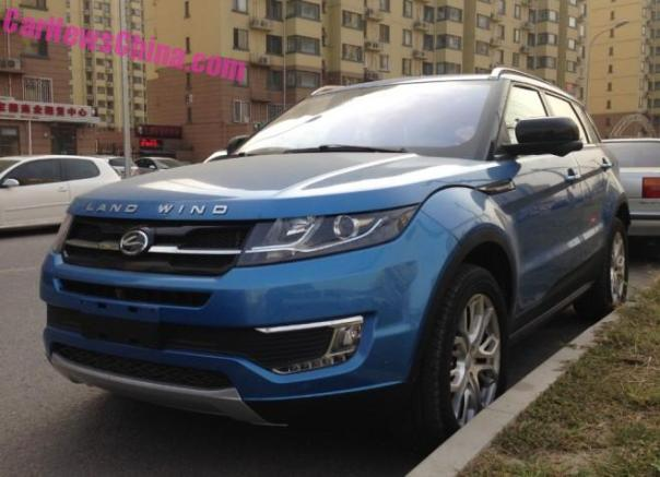 Eye to Eye with the Landwind X7 Evoque-clone in China