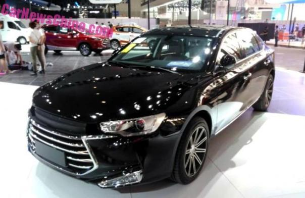 JAC A60 sedan arrives at the Guangzhou Auto Show in China