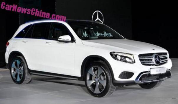 China-made Mercedes-Benz GLC to hit the market on November 19