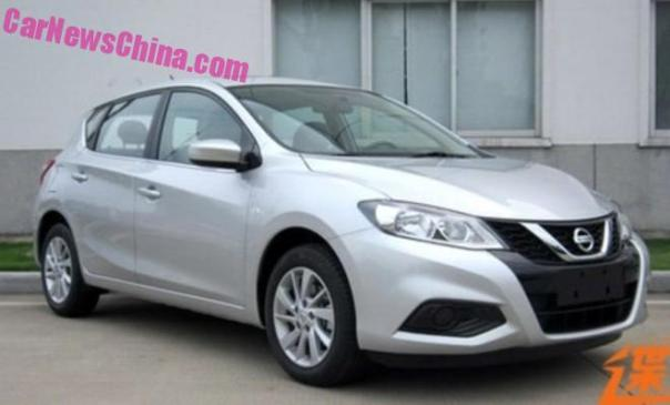 Spy Shots: facelift for the Nissan Tiida in China