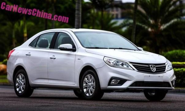 First Photos of the Facelifted Baojun 630 sedan for China