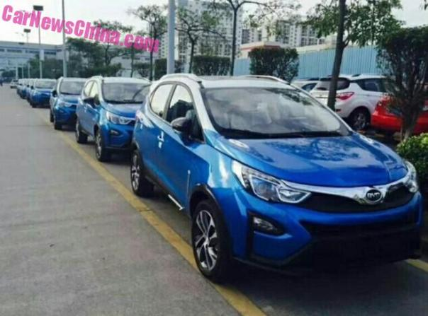 Spy Shots: BYD Yuan is Ready for the Chinese car market