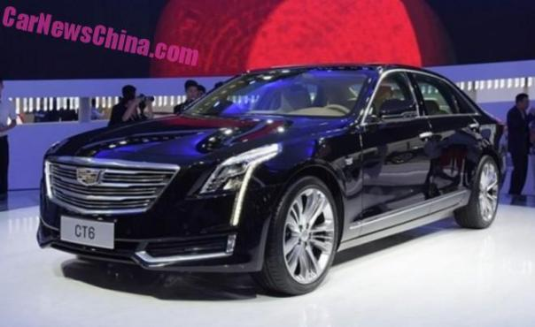 Cadillac CT6 will hit the Chinese car market on January 27