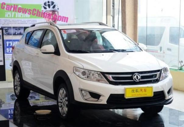 Dongfeng Fengshen AX3 launched on the Chinese auto market