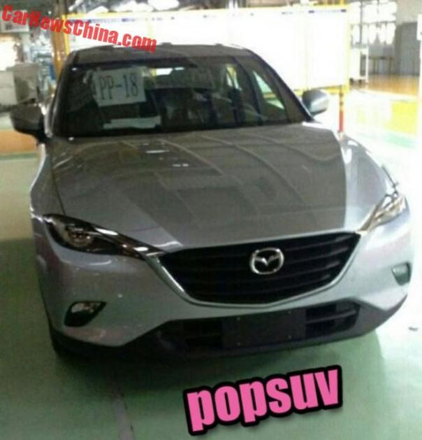 Spy Shots: Mazda CX-4 is Naked in China