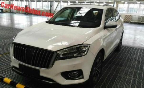 Spy Shots: Borgward BX7 SUV is Naked in China