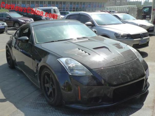 Spotted in China: Nissan 350Z drift car