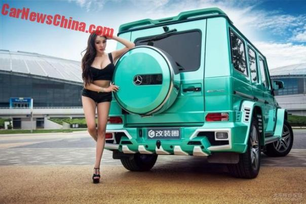 china-car-girl-g-class-1