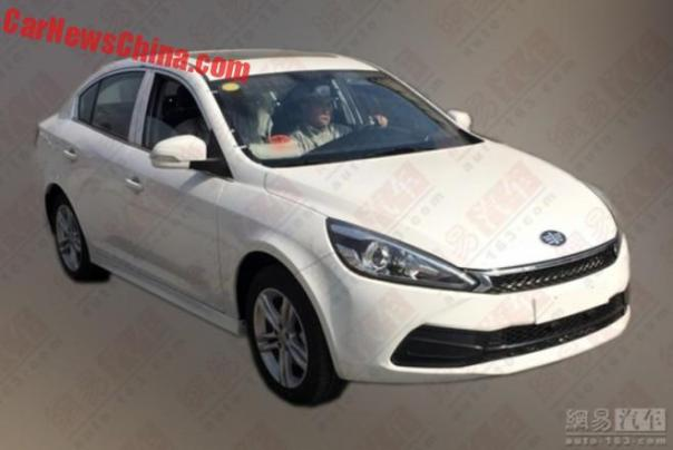 Spy Shots: FAW Junpai A50 sedan for China