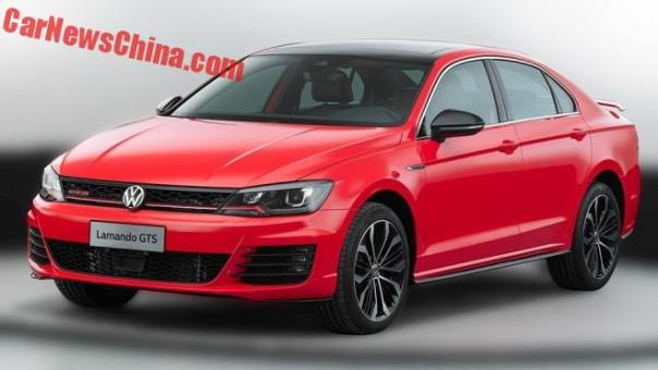 Leaked: Official Photos of the Volkswagen Lamando GTS for China