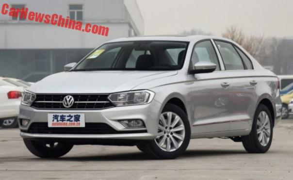 Facelifted Volkswagen Bora hits the Chinese car market