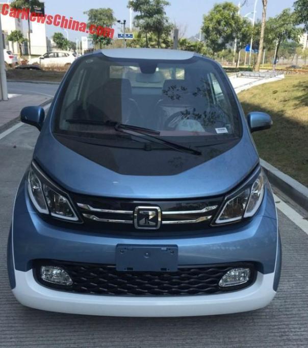 New Photos of the Zotye E200 EV for China