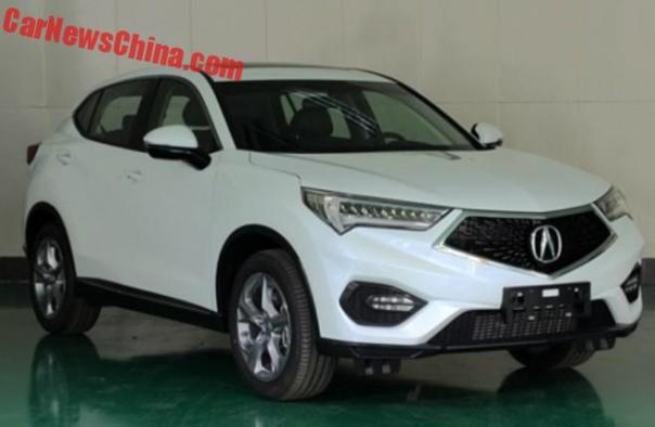 This is the new Acura CDX for China