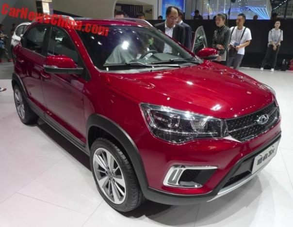 Chery Tiggo 3X Is a Sporty Tiggo 3 On The Beijing Auto Show