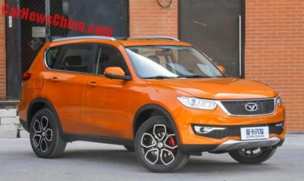 This is the Cowin X3 SUV for China