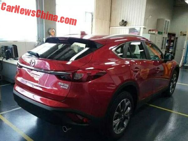 mazda-cx4-red-china-7