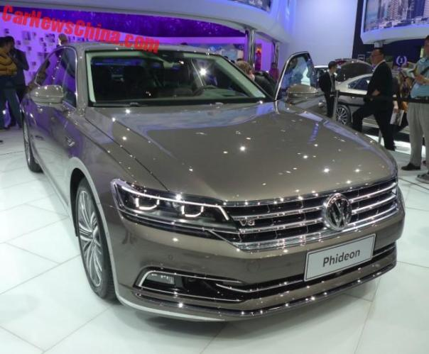 Volkswagen Phideon Unveiled On The Beijing Auto Show