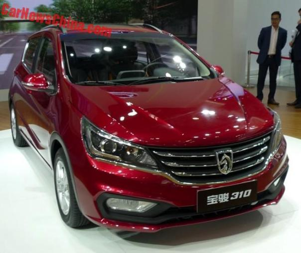 Baojun 310 Unveiled On the 2016 Beijing Auto Show
