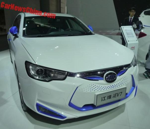 JAC Goes Electric On The Beijing Auto Show