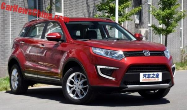 This Is The Jiangling Yusheng S330 SUV For China