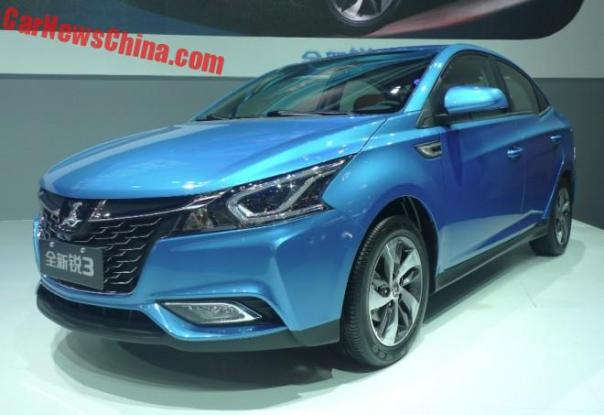 Luxgen 3 Sedan Launched On The 2016 Beijing Auto Show