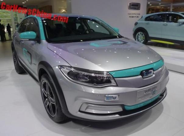 This Is The Qoros 3 Q•LECTRIC Sedan