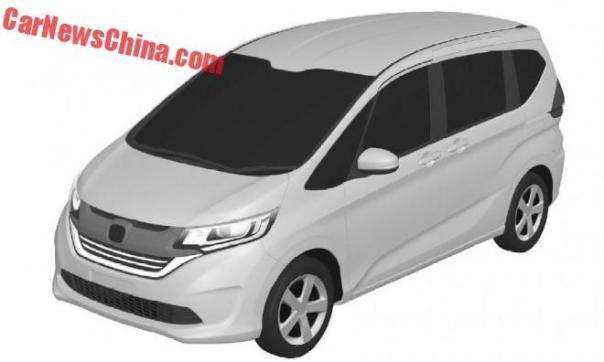 New Honda Freed Leaked In China