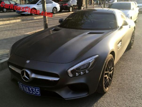Mercedes-AMG GTS Is Matte Black In China