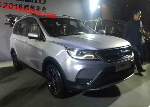 New Photos Of The Chery Karry K60 SUV For China