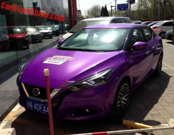 Nissan Lannia Is Shiny Purple In China