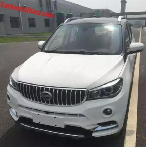 New Spy Shots Of The Brilliance Shineray SWM X5 For China