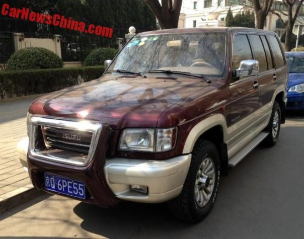 Spotted in China: A Perfect Isuzu Trooper