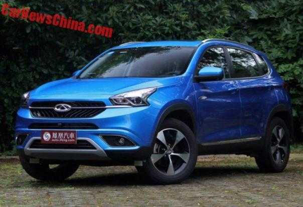This Is The Chery Tiggo 7 SUV For China